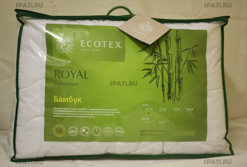 Ecotex одеяло бамбук отзывы