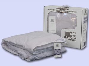 Одеяло Донской Текстиль Евро стандарт 200х220 овечья шерсть