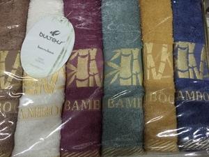 Полотенце бамбук 50х90 вид 1