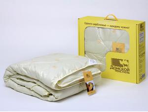 Одеяло Донской текстиль Евро стандарт 200х220 (верблюжья/овечья шерсть)